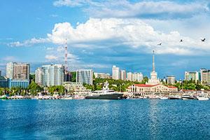 Поездки на море в Сочи из Краснодара
